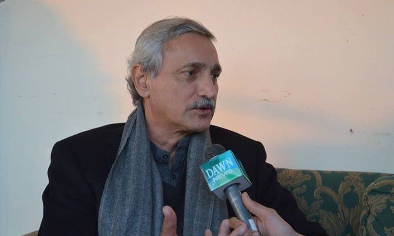 Senior PTI leader Jahangir Tareen pictured during a past interview — DawnNews