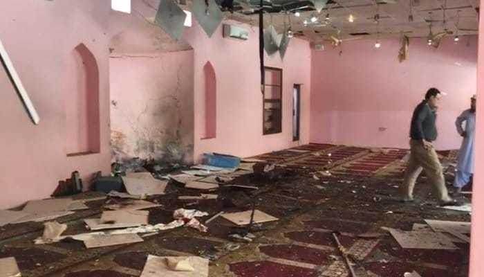 دھماکے کے بعد زخمیوں کو فوی طور پر ہسپتال منتقل کیا گیا—تصویر بشکریہ ٹوئٹر