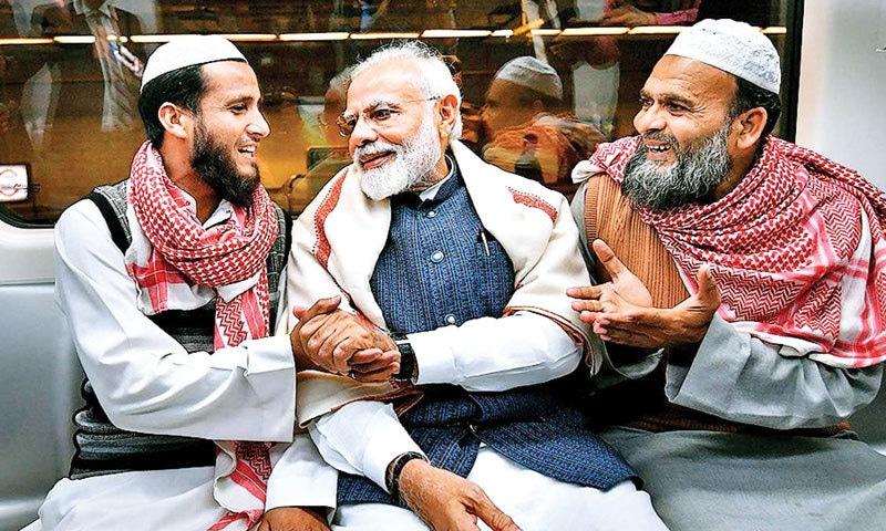 بی جے پی نے مجموعی طور پر 6 مسلم امیدواروں کو ٹکٹ دیے تھے—فائل فوٹو: ڈی این اے انڈیا