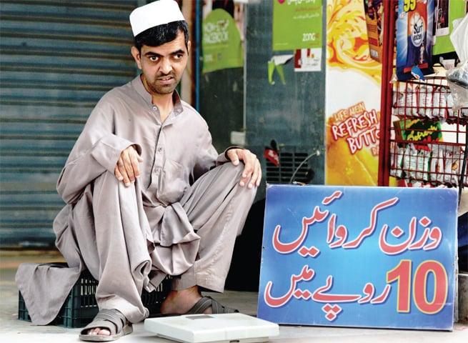 Abdul Majeed, 34, roadside vendor