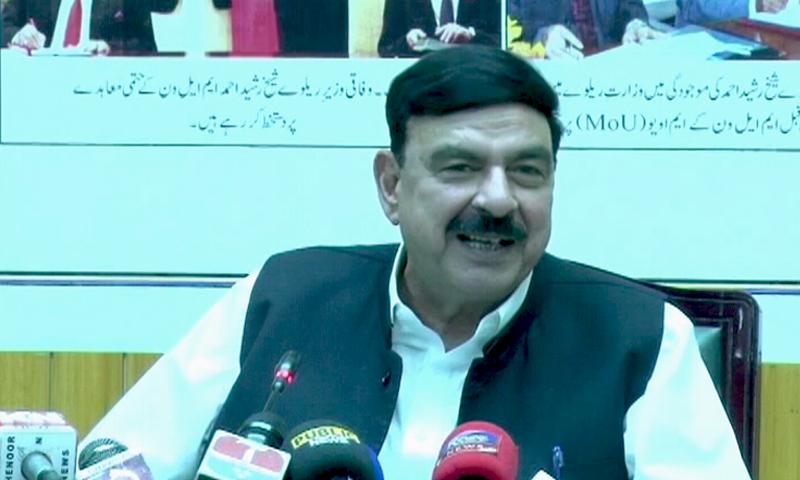 شیخ رشید کے مطابق وہ صدارتی نظام کو نہیں دیکھ رہے نہ ہی اس کو ووٹ دیں گے — فوٹو: ڈان نیوز