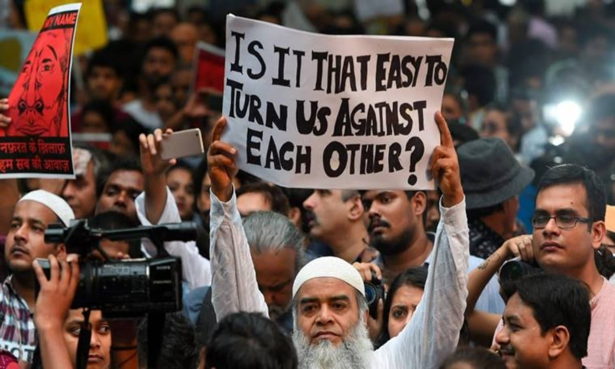 How a fixed gaze at the Muslim 'Other' helps political parties in India