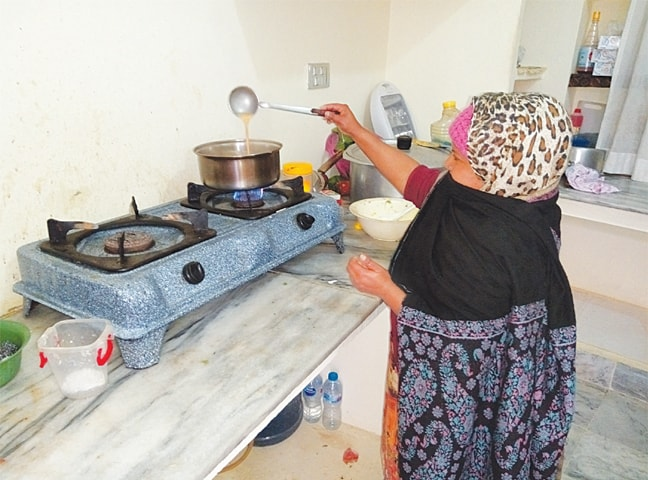 Saima Noreen found refuge at her sister's place