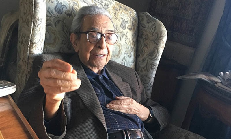 Ambas­sador Yusuf Buch, a former Pakistani cabinet minister and a distinguished diplomat and intellectual of Kashmiri origin, passed away in New York on Friday evening after a long illness, marking the end of an illustrious career. — Photo courtesy Radio Pakistan