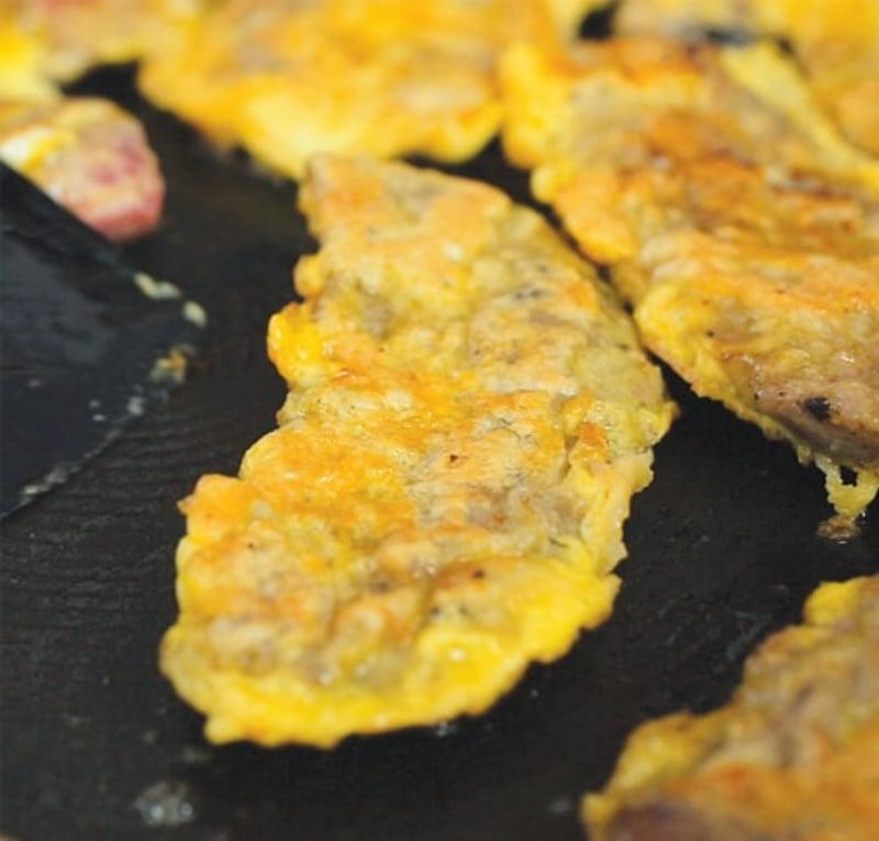 You can also bake your pakora as a healthier alternative