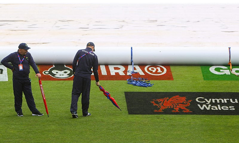 Pakistan-Bangladesh warm-up game abandoned as rain plays spoilsport