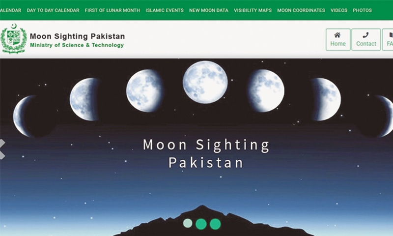 Govt launches website, app for moon sighting