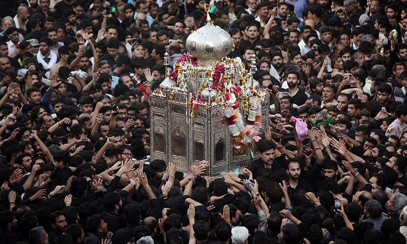 In pictures: Youm-i-Ali observed across Pakistan amid strict security arrangements