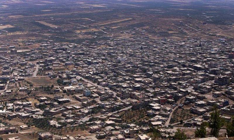 This picture shows the city of Quneitra after Syrian government forces took it back to the rebels, on July 19, 2018. — AFP
