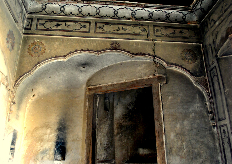 Travel writer and poet Irfan Shahood had visited the haveli – or saraye -- and documented it through pictures. — Photo by Awon Ali