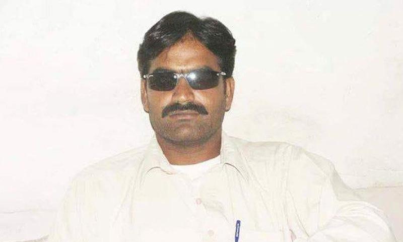 منیر سانگی کو 29 مئی 2006 کو قتل کیا گیا—فوٹو: ہادی بخش سانگی