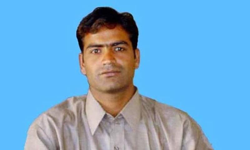 منیر سانگی سندھی ٹی وی چینل کے ٹی این سے وابستہ تھے—فائل فوٹو: ہادی بخش سانگی
