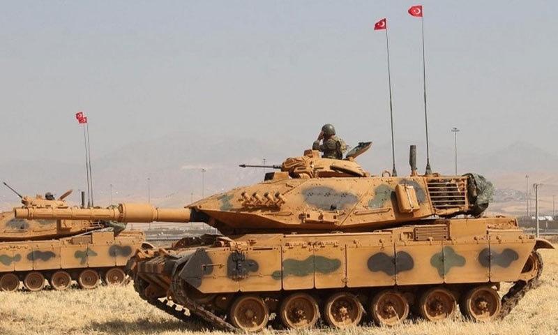 ترک فوج کے مطابق 9 دہشت گردوں کو غیر موثر کردیا گیا ہے—فوٹو:رائٹرز