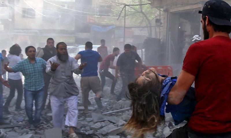 Civilian toll mounts as Syria regime pounds militant bastion