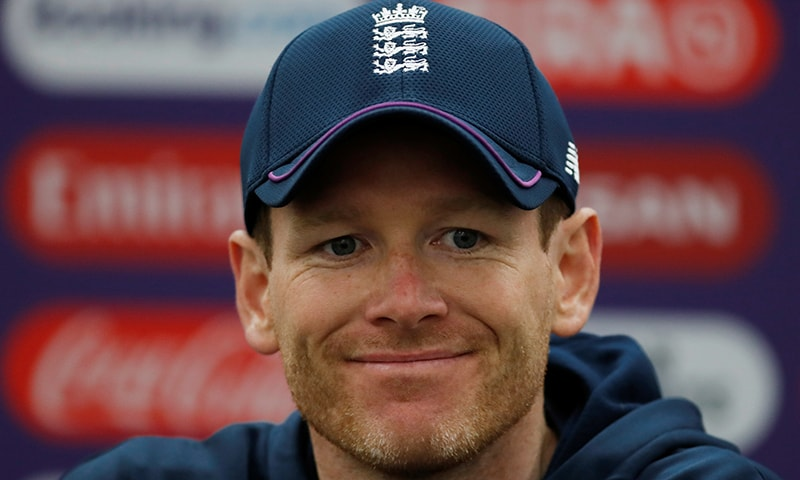 England captain Eoin Morgan during a press conference on May 29. — Reuters
