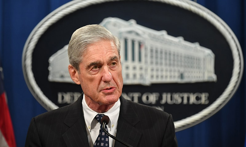 Charging Trump with a crime was 'not an option': Mueller