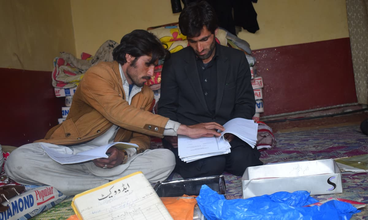 Gul Nazar and Bin Yasir go through the case file of their brother's killing