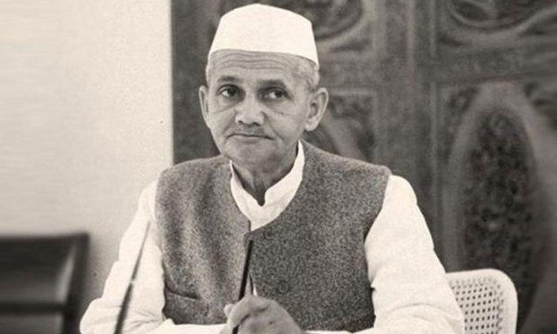لال بہادر شاستری تیسرے وزیر اعظم بنے—فوٹو: انڈیا ٹائمز