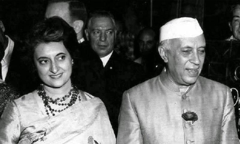 اندرا گاندھی بھارت کے پہلے وزیر اعظم کی اکلوتی بیٹی تھیں—فوٹو: انڈیا فیکٹس