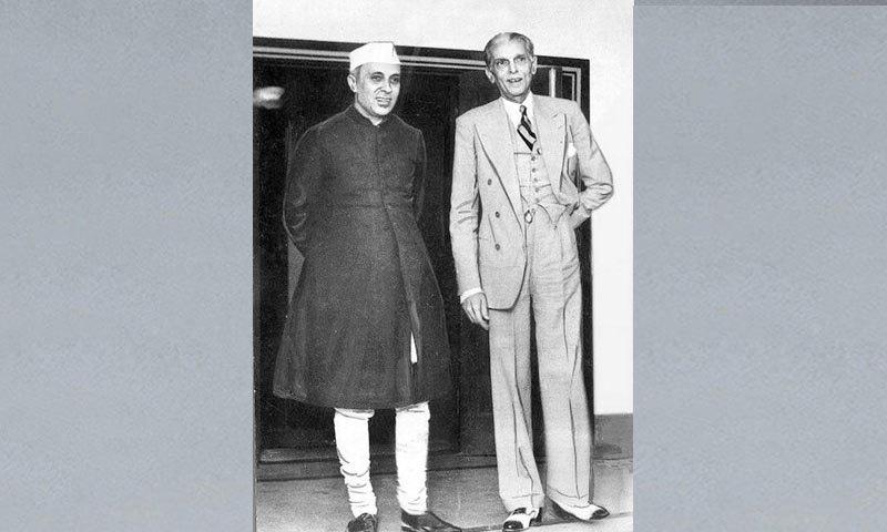 جواہر لال نہرو کے تقسیم ہند سے قبل بانی پاکستان سے بھی تعلقات تھے—فوٹو: دی ہندو آرکائیو