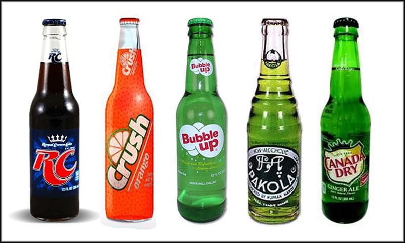 70ء کی دہائی میں ملنے والے ٹھنڈے مشروبات