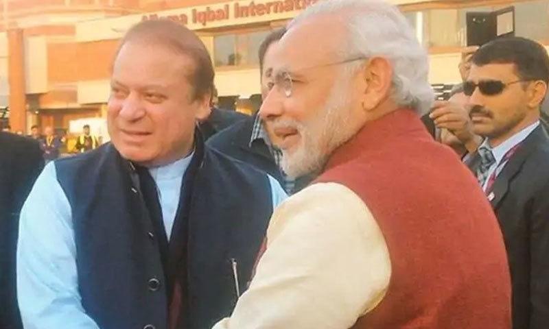 نریندر مودی نے اپنی پہلی مدت کے دوران پاکستان کا اچانک دورہ کرکے سب کو حیران کردیا تھا—فوٹو: ٹوئٹر
