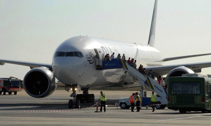 طیارہ 1.5 سال سے ناقابل استعمال تھا — فائل فوٹو/