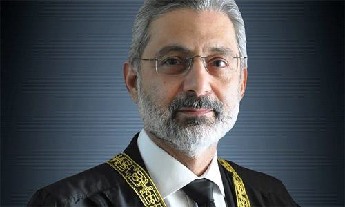 The Supreme Court Bar Association president says the body has complete faith in the integrity of Justice Qazi Faez Isa. ─ Photo courtesy Supreme Court website