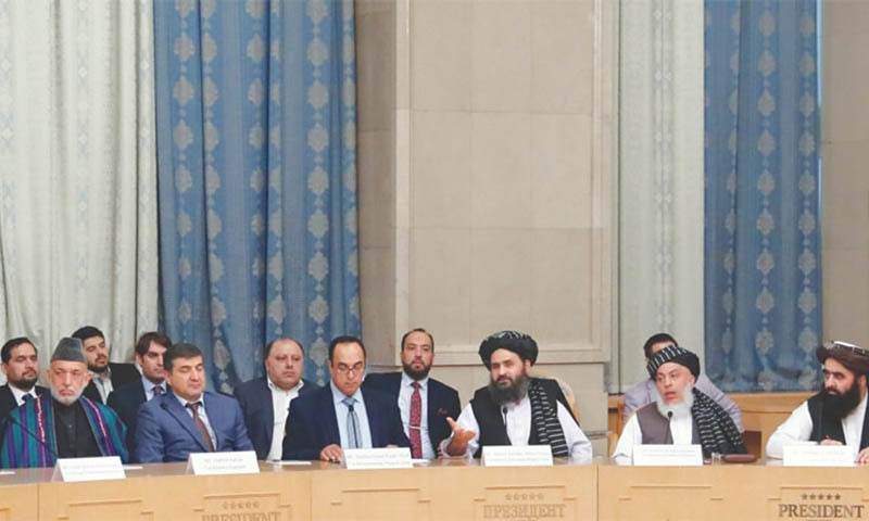 Taliban claim 'progress' at Afghan talks