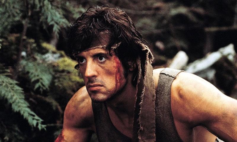 ریمبو سیریز کی پہلی فلم 1982 میں ریلیز ہوئی—اسکرین شاٹ