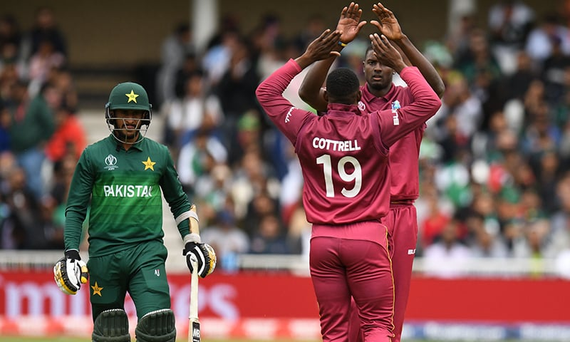West Indies pulverise Pakistan by seven wickets at Trent Bridge
