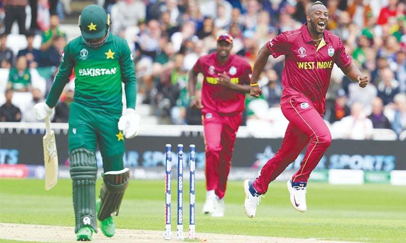 88e6338649 Pakistan suffered a lop-sided defeat at the hands of Windies in their  opening World