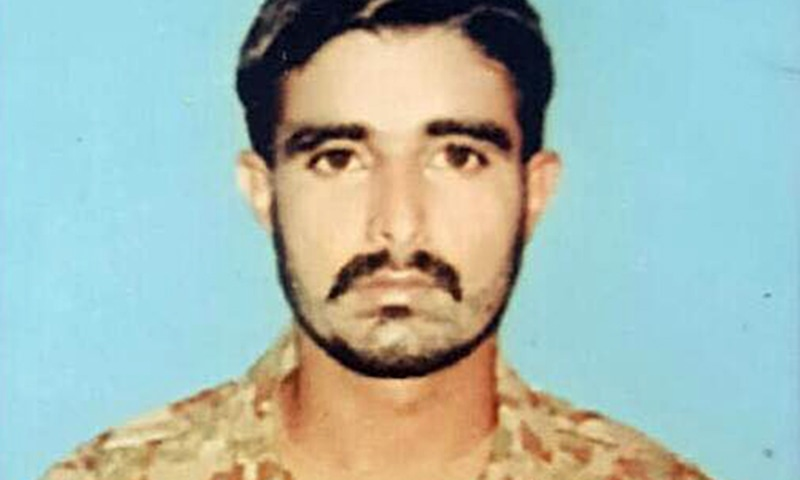 Amil Shah, 26, embraced martyrdom in the attack according to the ISPR. — Photo courtesy: ISPR