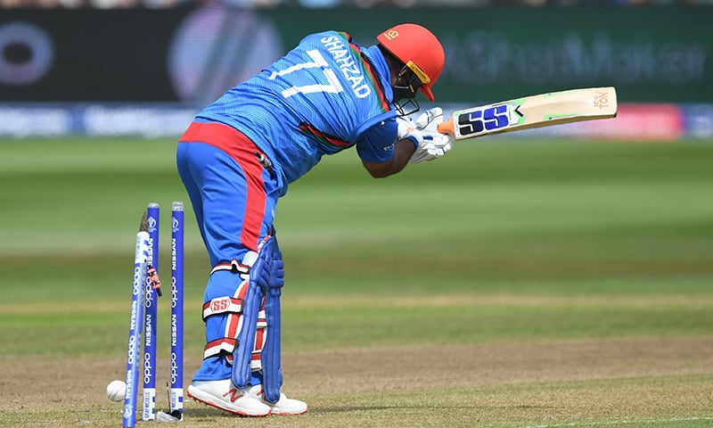 Rank outsiders Afghanistan's strength lies in their spin bowling rather than batting, with the team dismissed for just 160 by tournament hosts England in a warm-up match on Monday. — AFP/File