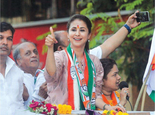Child star-turned-femme fatale Urmila Matondkar is one of the new lot of actors to have ventured into politics. Matondkar's campaign on a Congress ticket was lauded, but the constituency was won by the BJP | AP