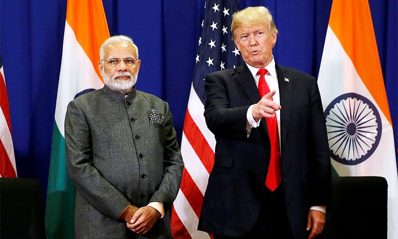 Washington has sought to make India a closer diplomatic ally, but has long complained about limited access to the huge market of 1.3 billion people. — Reuters/File