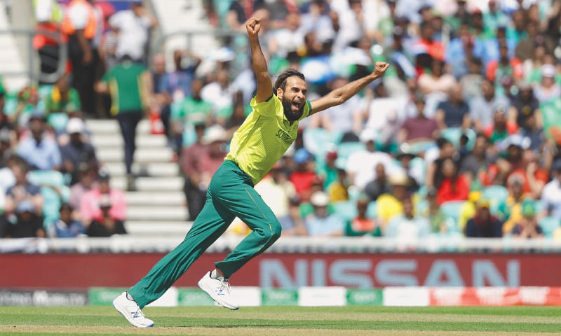 Imran feels special on 100th ODI appearance for SA