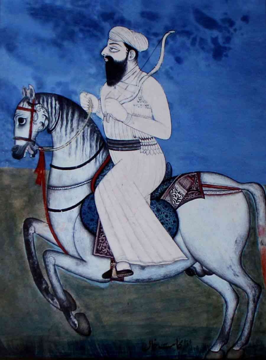 Dost Mohammad Khan. — Wikimedia Commons