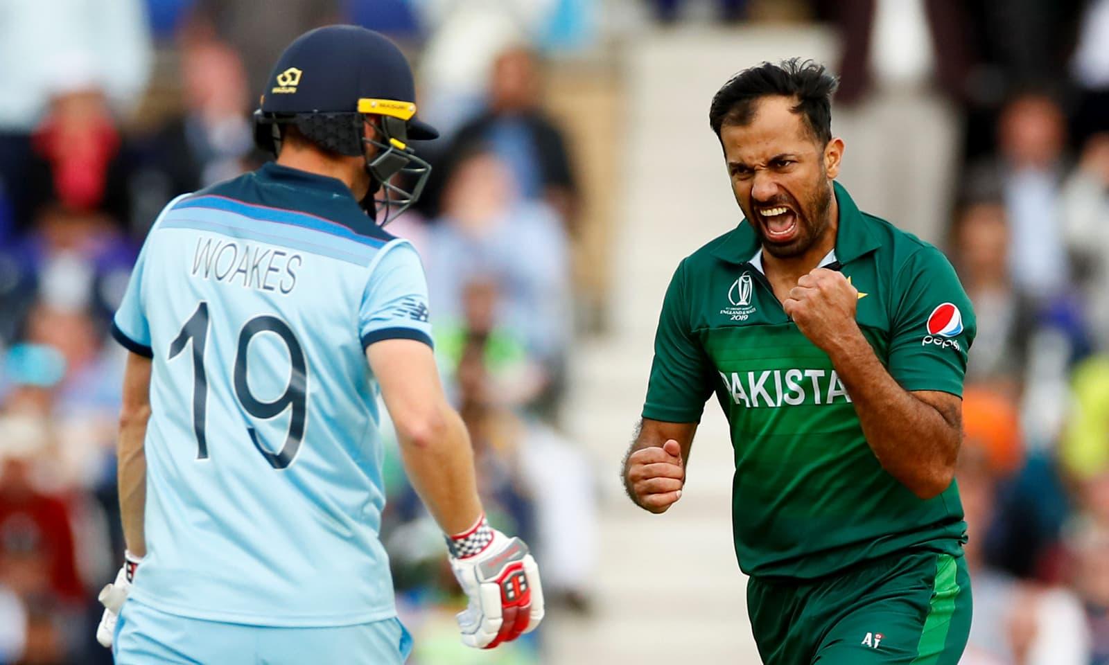 پاکستان نے میچ میں 14رنز سے فتح اپنے نام کی — فوٹو: رائٹرز