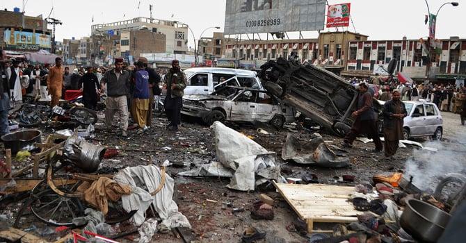 سانحہ کوئٹہ میں 74 افراد ہلاک ہوئے تھے — فائل فوٹو/ اے پی