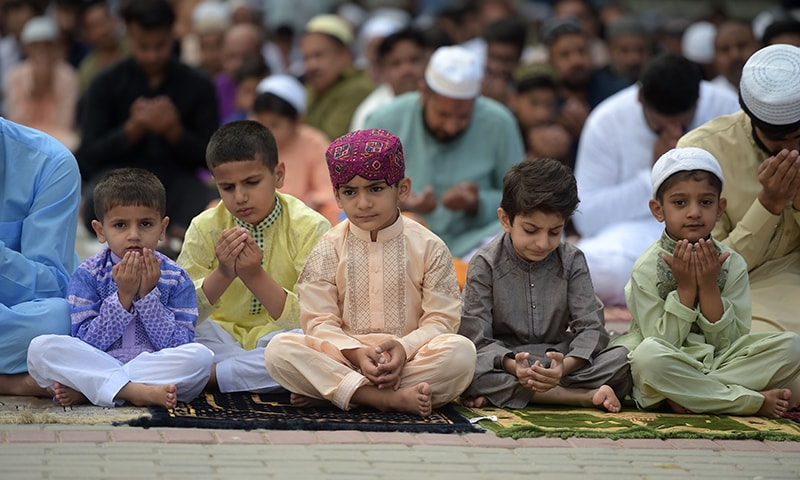 Eidul Fitr celebrated across Pakistan with traditional fervour