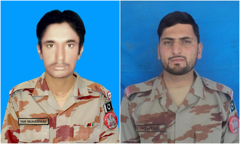 2 soldiers martyred in Balochistan while on Eid patrol duty: ISPR
