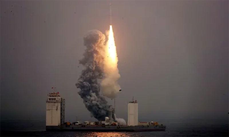چین سمندر سے خلا میں راکٹ بھیجنے والا تیسرا ملک بن گیا