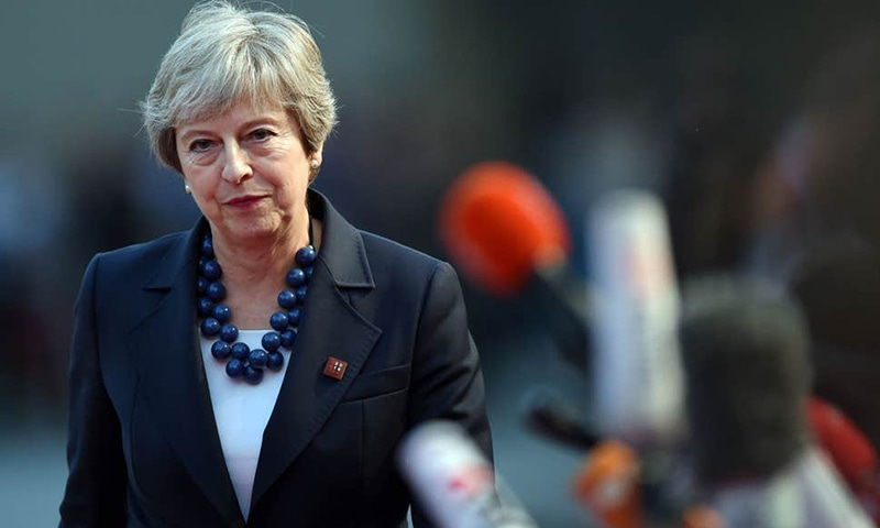 UK PM Theresa May quits as Conservative Party leader, sparking succession race