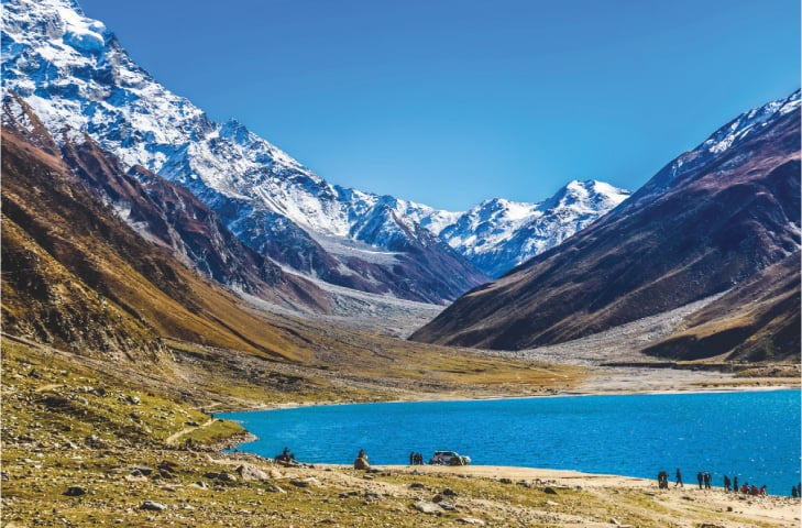 The lake in the north of Pakistan where Prince Saiful Malook waited to meet the fairy Badrul Jamal