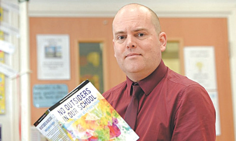 Andrew Moffat of Parkfield Community School in Birmingham