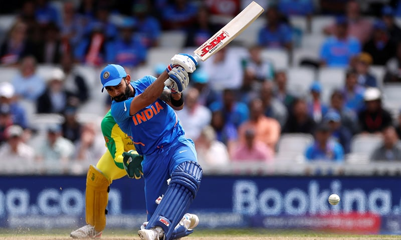 India's Virat Kohli in action against Australia. — Reuters