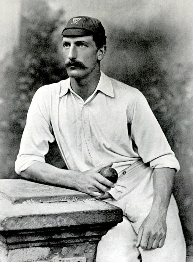 Charles Aubrey Smith played for Sussex from 1882 to 1896.—Wikimedia Commons