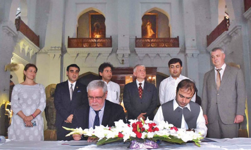 Russia to help conserve KP's archaeological heritage