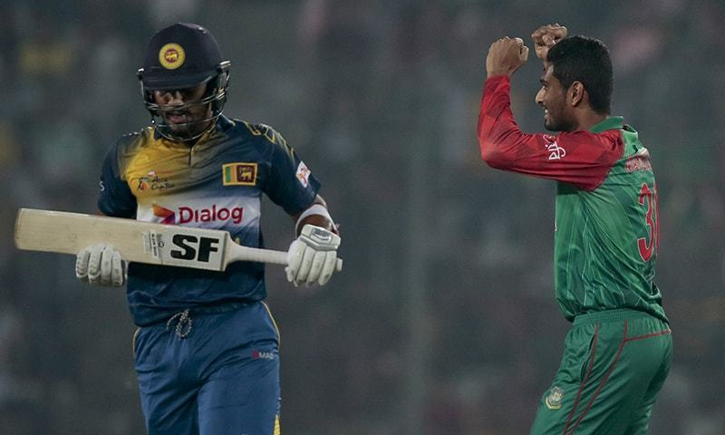 The first time Sri Lanka played Bangladesh in a World Cup fixture was at Pietermaritzburg Oval in South Africa in 2003. — AP/File
